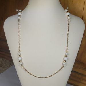 """Sarah Covertry gold chain necklace, 30"""""""